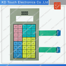 DIY high quality membrane switch keyboard for industrial