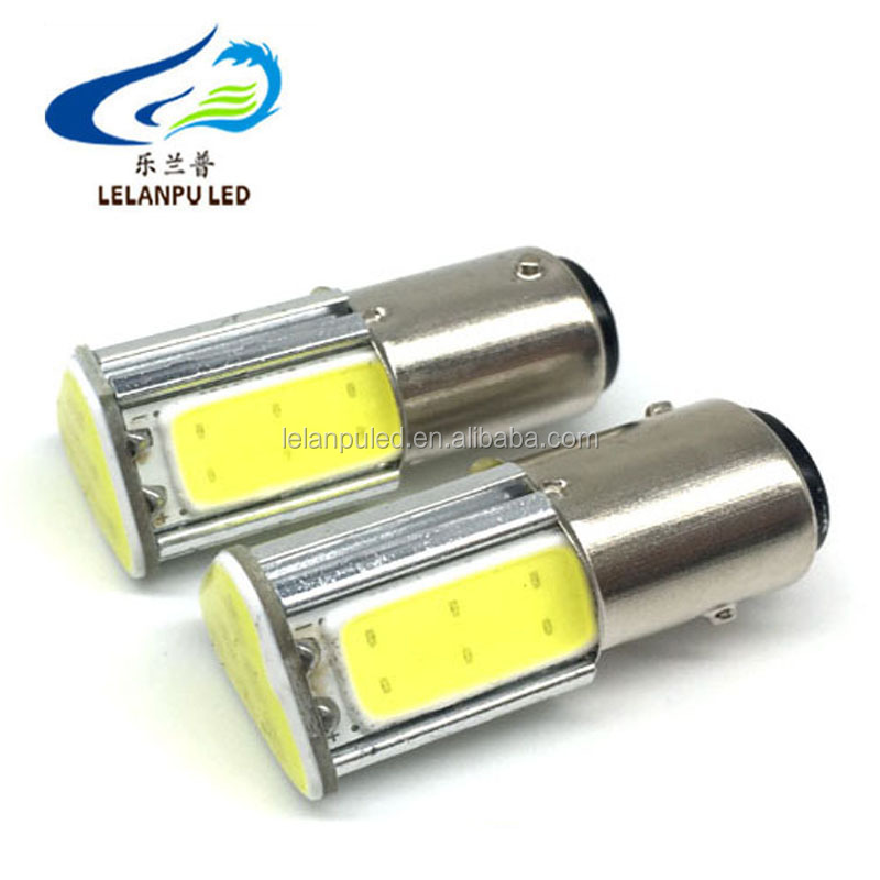 1157 COB 4 side DC12V LED High Power Auto auto Lichtbron Tail Reverse Backup Brake Knipperlicht