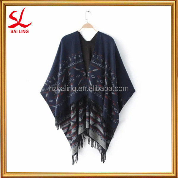 Wholesale Women Fashion Long Warm Scarves 100% Cotton Jacquard Shawl Pashmina