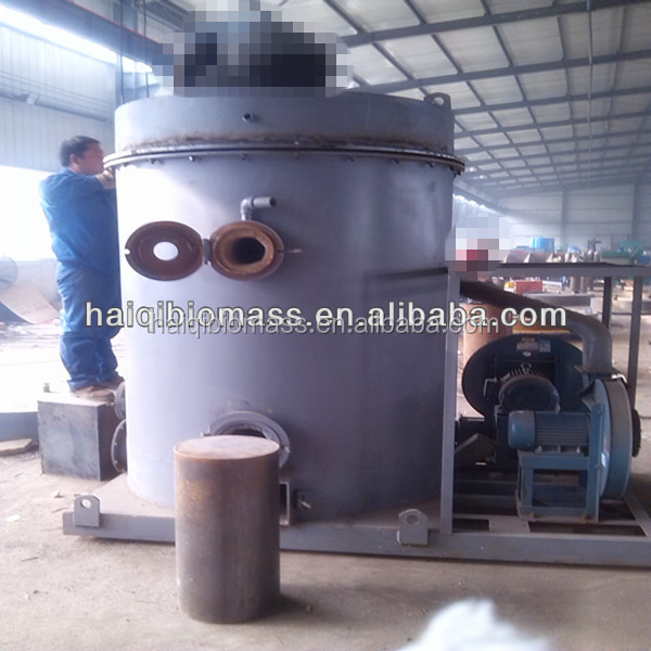 Energy saving water cooling biomass electric generator for sale/500KW Australian nut shell palm oil waste EBF biomass gasifier