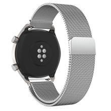 Металлический ремешок Milanese Magetic для Huawei Watch GT GT2, умный ремешок для часов из нержавеющей стали для мужчин и женщин, ремешок для Huawei Honor Magic(Китай)