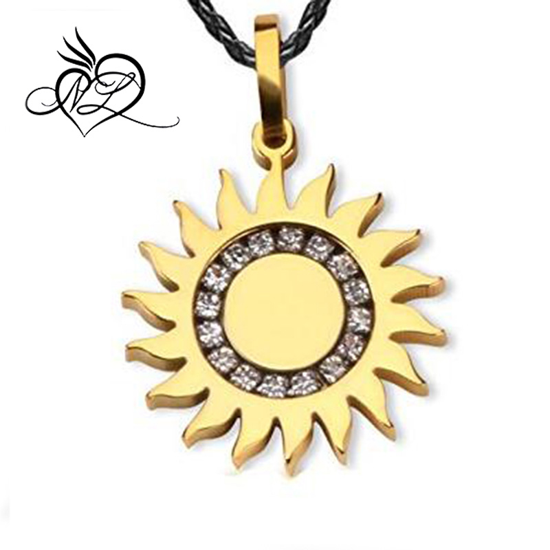 Steel The Sun God Phoebus Apollo Pendant Dog Tag NecklaceApollo Necklace For Men