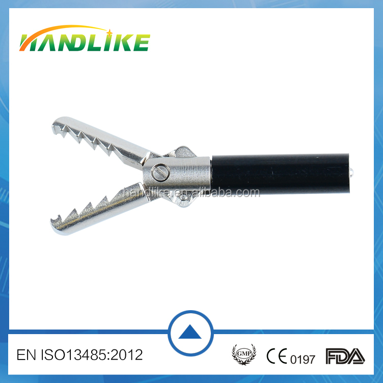 disposable Uterine forceps, laparoscopic surgical grasping forceps