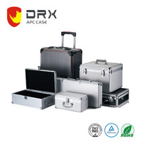 Ningbo everest APC014 Aluminum Trolley Tool Case /Aluminum Suitcase/Hard Metal Luggage Box