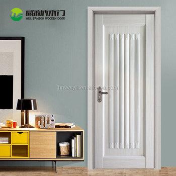 Cheap Wooden Internal Door 6 Panel Interior Doors With Frame - Buy ...