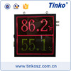 Super bright 15 inch led monitor 64x64 led display module dot matrix with fahrenheit display