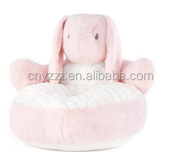 Soft Plush Bunny Chair Pink or White wholesale