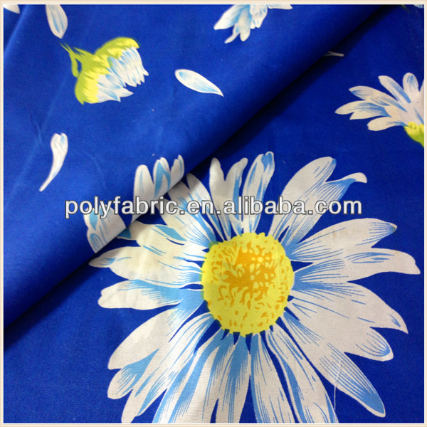 100 Microfiber Fabric Polyester Printed Bed Base with Fabric Cover