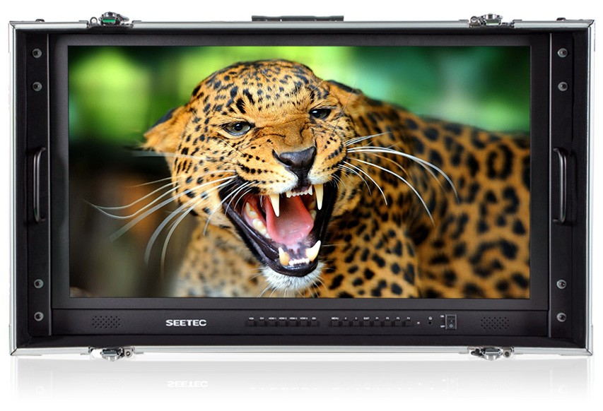 3G SDI 4k ultra hd 3840x 2160 display High Quality Broadcast Production LCD Monitor