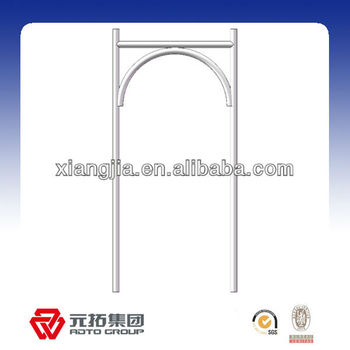 762*1700mm Galvanized Metal Arch Frame Scaffolding - Buy Arch Frame ...