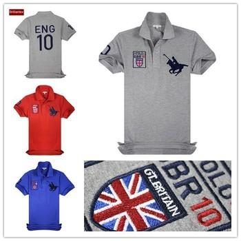 Embroidery Logo Whole Polo T Shirt
