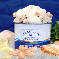 New Arrival Good Price Frest Frozen Top Grade Sushi Crab Meat For sale