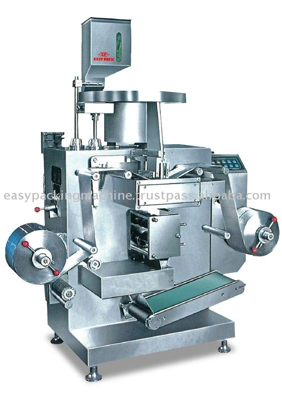 AUTOMATIC DOUBLE ALUMINIUM STRIP PACKING MACHINE