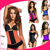 2015 Top sell rubber latex girdle workout waist cinchers