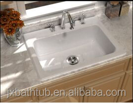 Used Apron Front Royal White Enameled Ce Cupc Kitchen Sink For ...