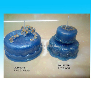 Blue Transparent Granulated Decorative Candle Wax For Sale