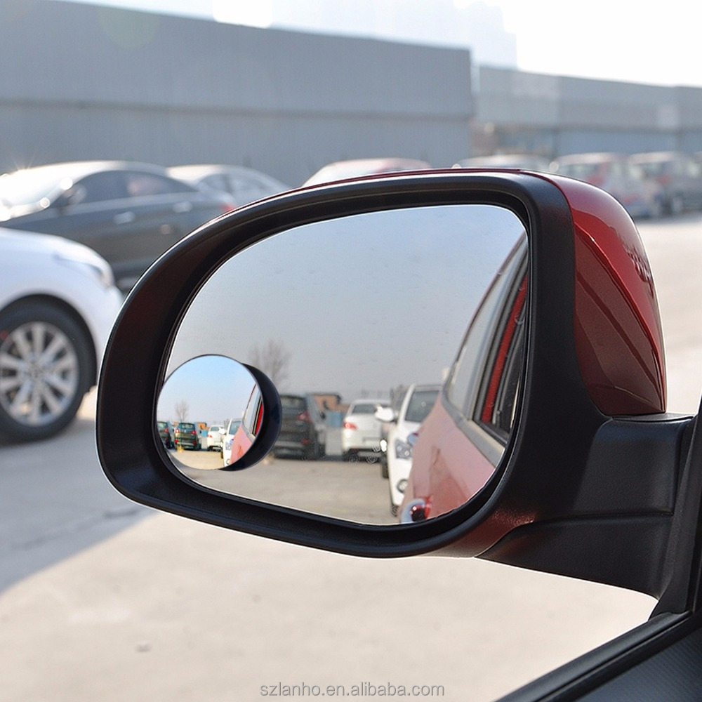 2017 New HD Car Rear View Mirror 360 Degree Rotating Wide Angle Blind Round Convex Parking Mirror Auto Accessory Spot Mirror