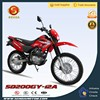 200cc Off-road Dirt Bike 200cc Pit Bike for Adults Powerful Motorcycle HyperBiz SD200GY-12A