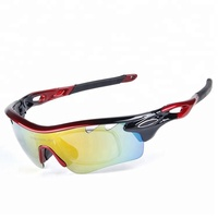Fashion High Performance Anti-uv Polarized Custom Sport Sunglasses For Outdoors Cycling