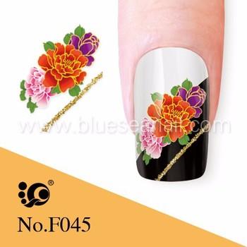 Wholesale Nails Supplies Water Nail Sticker Japanese Nail Art