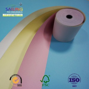 3-ply Carbonless Copy Paper/Computer Form Paper/Carbonless Paper Roll