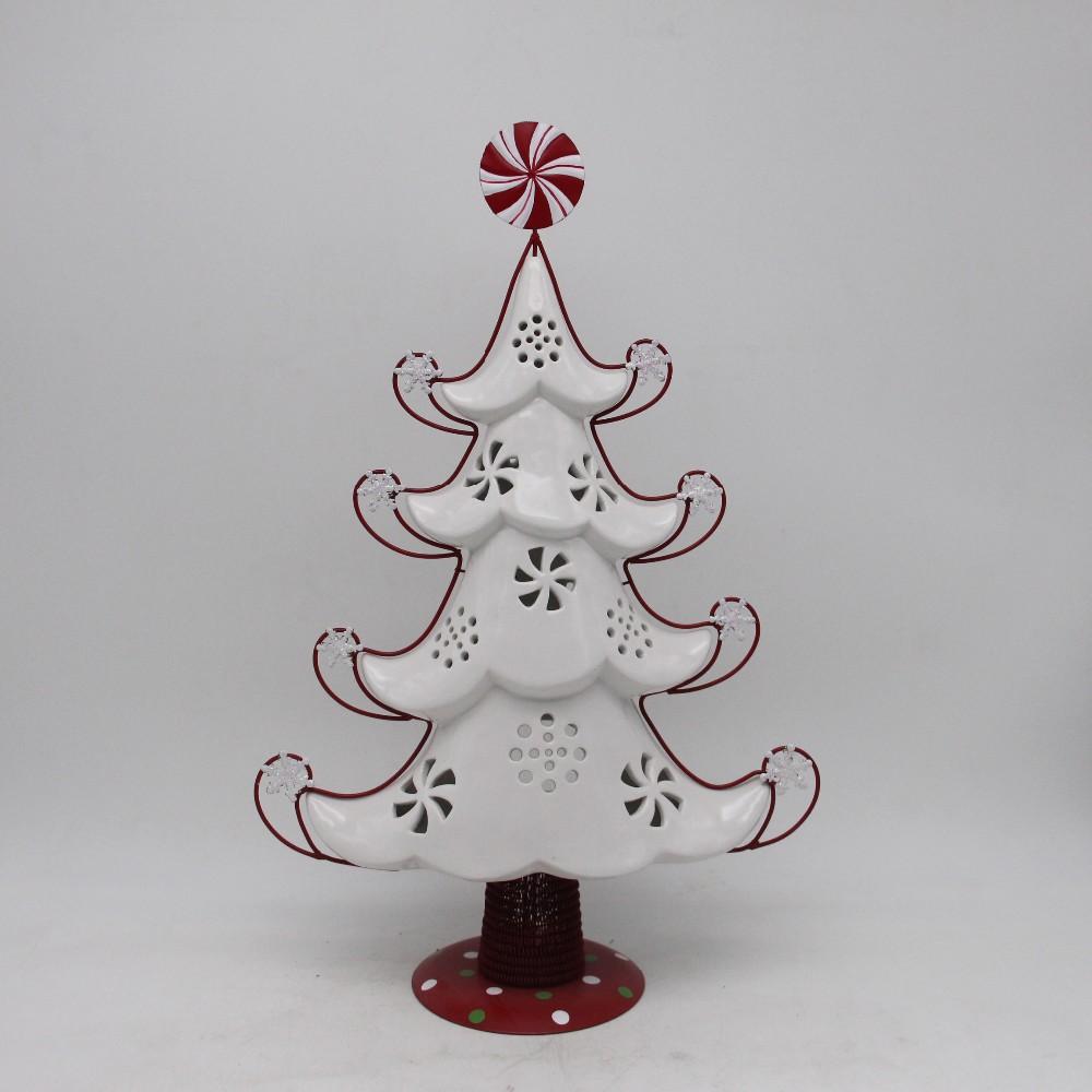 Ceramic Creative Christmas Ornaments White Christmas Tree Buy Handmade Reindeer Christmas Tree Ornaments Metal Christmas Tree Ornaments Dollar Tree