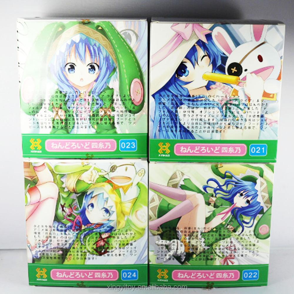 Tanggal yoshino hidup japanese anime 4 pcs 10 cm 3 9 lucu koleksi tokoh mainan