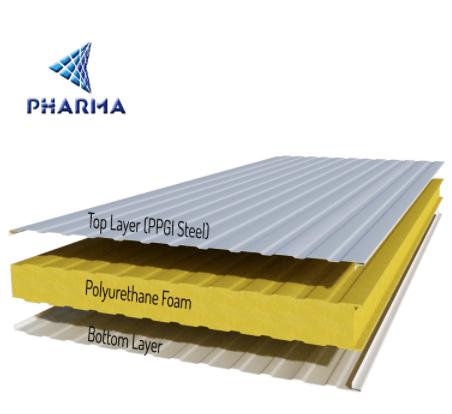 מתוחכם מוצרים חדשים פוליאוריטן קצף PU כריך פנל מחיר-כריך לוחות-מספר זיהוי XB-81