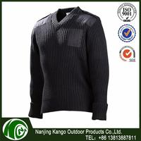 K-ANGO UK Market Oriented Sunshine Proof military cartoon wool sweater