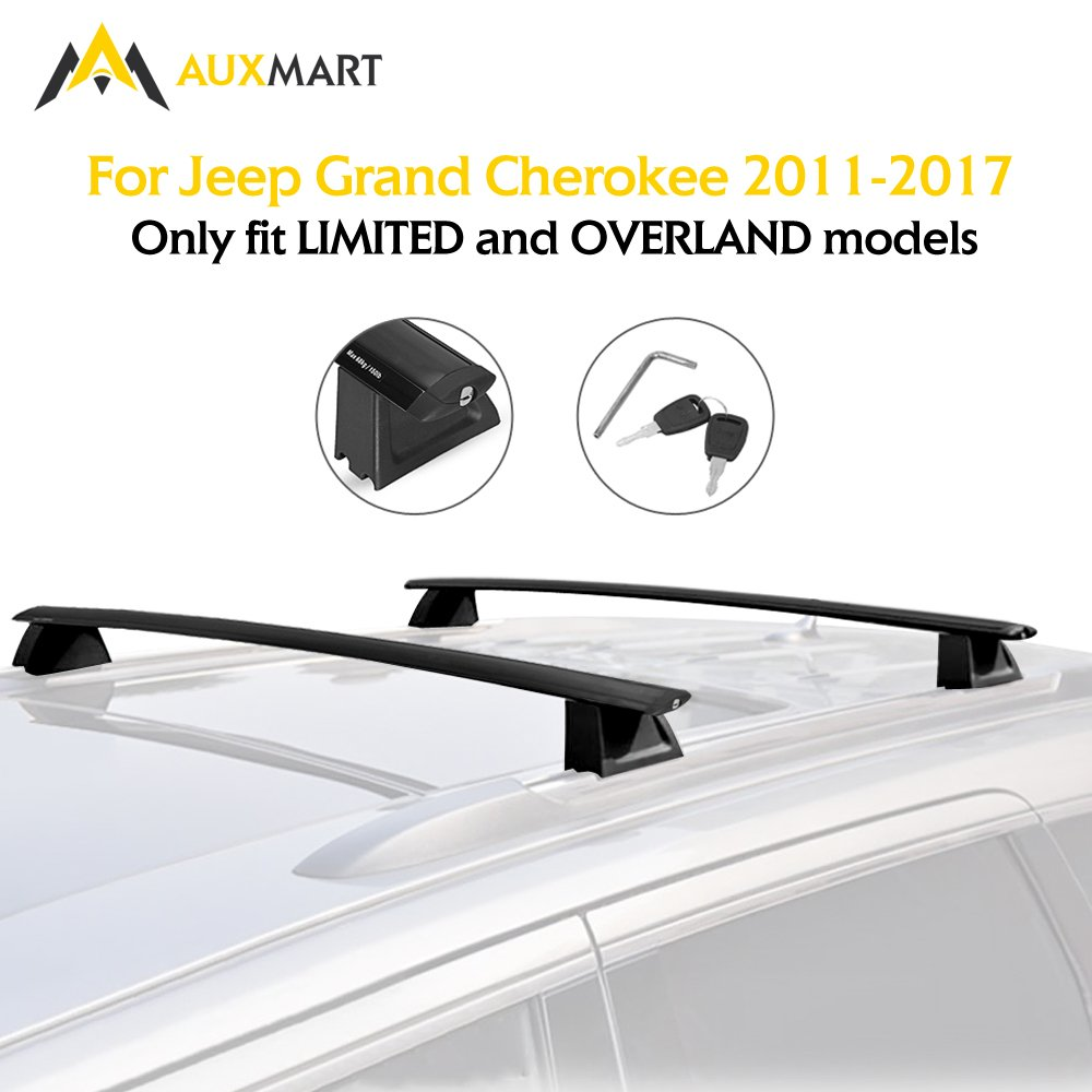 Buy AUXMART Roof Rack Crossbars for Jeep Grand Cherokee ...