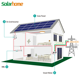 Bluesun grid tie solar power systems for home 2kw solar panels