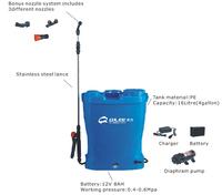 16L Dual system Knapsack Sprayer for Agriculture and Garden Herbicide or Pesticide