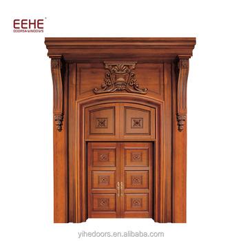 Main Entrance Handmade Carving Wooden Door Designs In Sri Lanka
