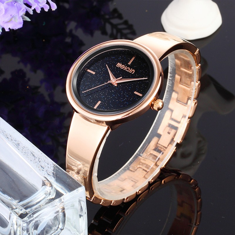 Charming fancy starry sky bracelet watch women wrist