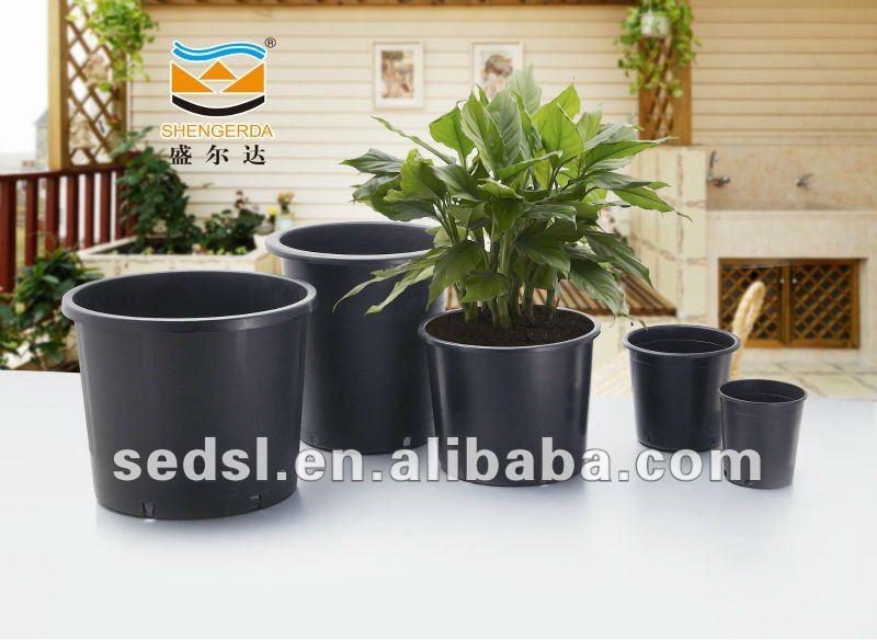 5 Gallon Plastic Pots Bulk Flower Plant Whole Pp Planter