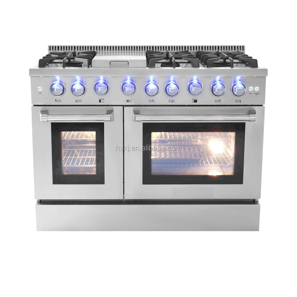 Stainless Steel Gas Stove Cooktops Oven