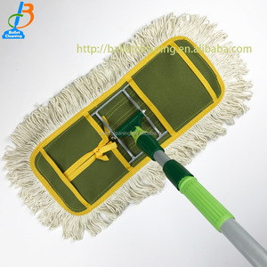 household items cleaning products 40CM dust cotton mop yarn clever industrial dust mop floor cleaner mob linea de vida