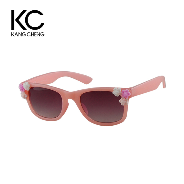 46bc3f59a97 Wholesale Price Flower Decoration Fashion Customized Children Sunglasses
