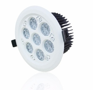 China LED Spotlight Custom Design Logo Projector LED Spotlight Cheap Price 40W LED Downlight
