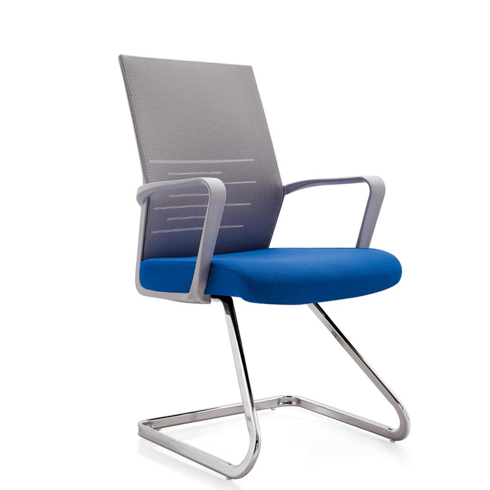 High Density Sponge Chrome Steel Leg Conference Office