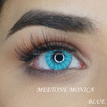 Meetone Monica 2018 New Style Soft Yearly Contact Lenses - Buy Soft Color  Contact Lenses,Yearly Color Contact Lenses,Cheap Contact Lenses Product on