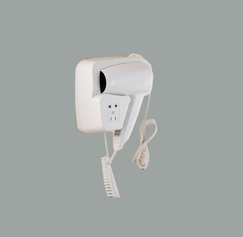 FLG professional approved hotel bathroom mounted wall hair dryer