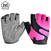 Extra Grip Breathable mens gym gloves Microfiber Material and Padded Gloves for Weight Lifting Gym Gloves