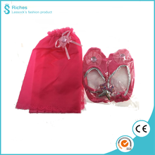 New Arrival Party Items, 3 Pcs Dance Shoes + Fairy Tutu + Hairpin with Opp Bag kids birthday party set