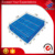 Durable double faced euro style plastic pallet for industry