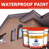 Waterproof Paint Mixed With Emulsion And Powder Paint For Waterproof Buildings