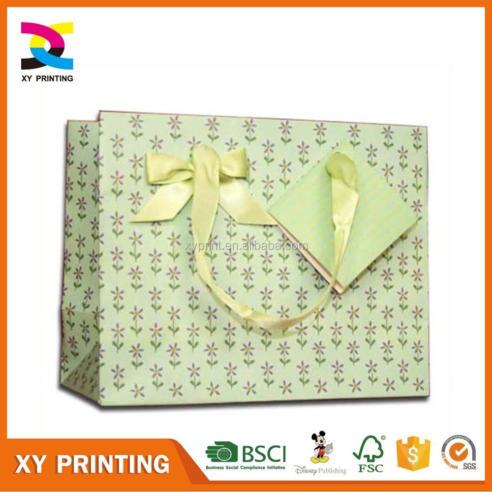 Promotional printed shopping/gift paper bag
