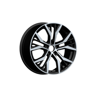 New style 17&18inch replica aluminum and steel alloy wheel rims (ZW-P713)