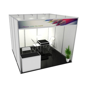 Easy Assembly Aluminum Modular Exhibition Booth Stall