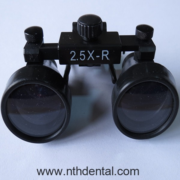Dental /Surgical Binocular Clip-on Loupe / Magnifier 2.5x (Optional multiples : 2x 3x 3.5x 4x 5x 6x )